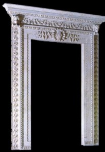 ITALIAN MARBLE DOOR SURROUND – MODEL DS107 1