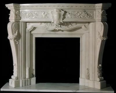 French Marble Fireplace Model Mfp105 Houston Tx Custom