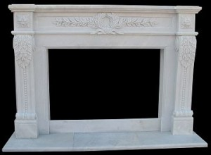 MARBLE FIREPLACE MANTLE SURROUND – MODEL MFP108 1