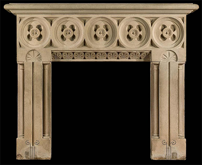 VERDE MARBLE FIREPLACE – MODEL MFP111 1