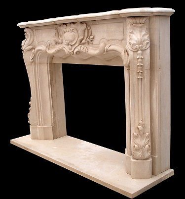 Louis Xv Fireplace Surround Model Mfp125 Houston Tx
