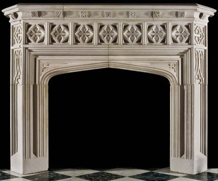 Model Mfp189 Houston Tx Custom Imported Marble Fireplace