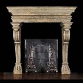 MARBLE OR LIMESTONE SURROUND MANTLE - MODEL MFP126