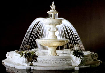 Art Deco Marble Fountain Model Mf110 Houston Tx Hand