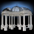 HAND CARVED EUROPEAN MARBLE ARBOR