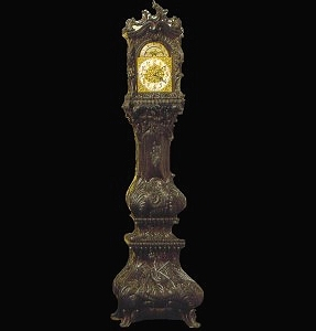 MARBLE GRANDFATHER BOMBAY CLOCK – MODEL MS104 1