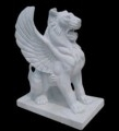 MARBLE ENTRANCE LIONS - MODEL MS109