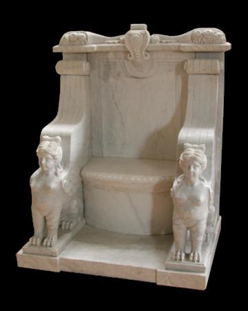 ETRUSCAN MARBLE CHAIR U2013 MODEL MB107