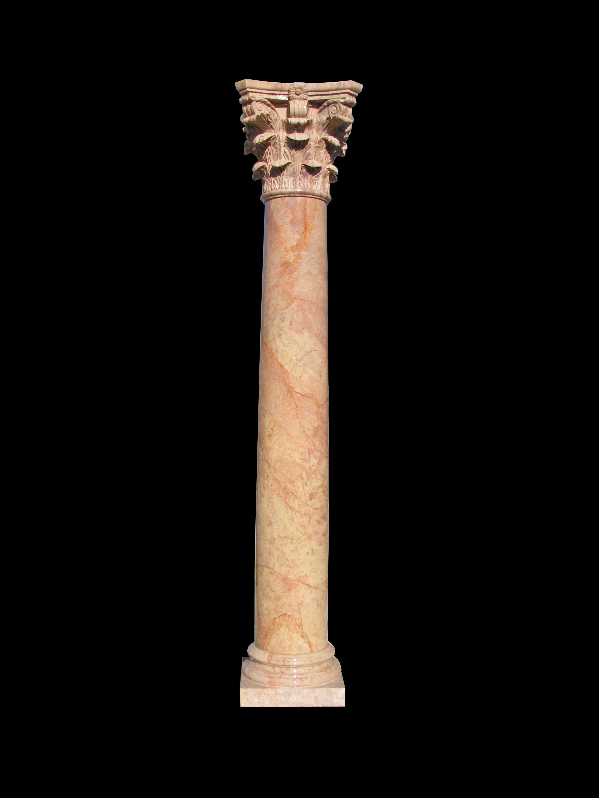 Classic Corinthian Column Model 102 Houston Tx Marble