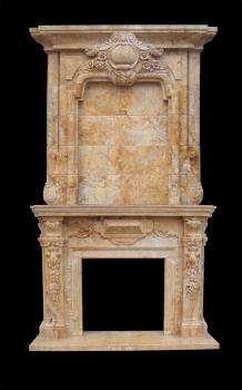 Limestone Fireplace Surround Model Mfp123